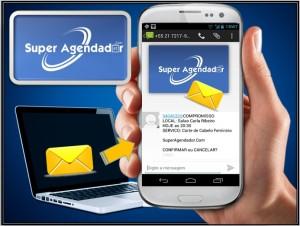 SMS de confirmação de compromisso